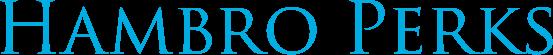 Funder logo for Hambro Perks.