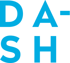 Logo of Dash Water, a real-fruit infused sparkling water brand.