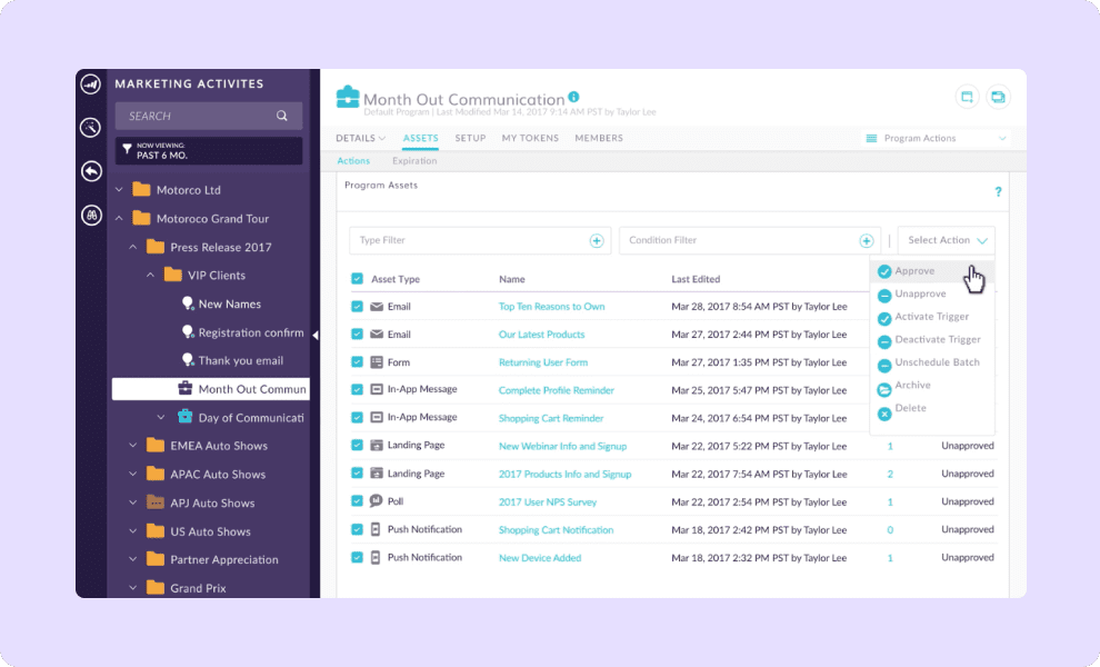 Connect Hopin with Marketo to engage your customers and prospects.