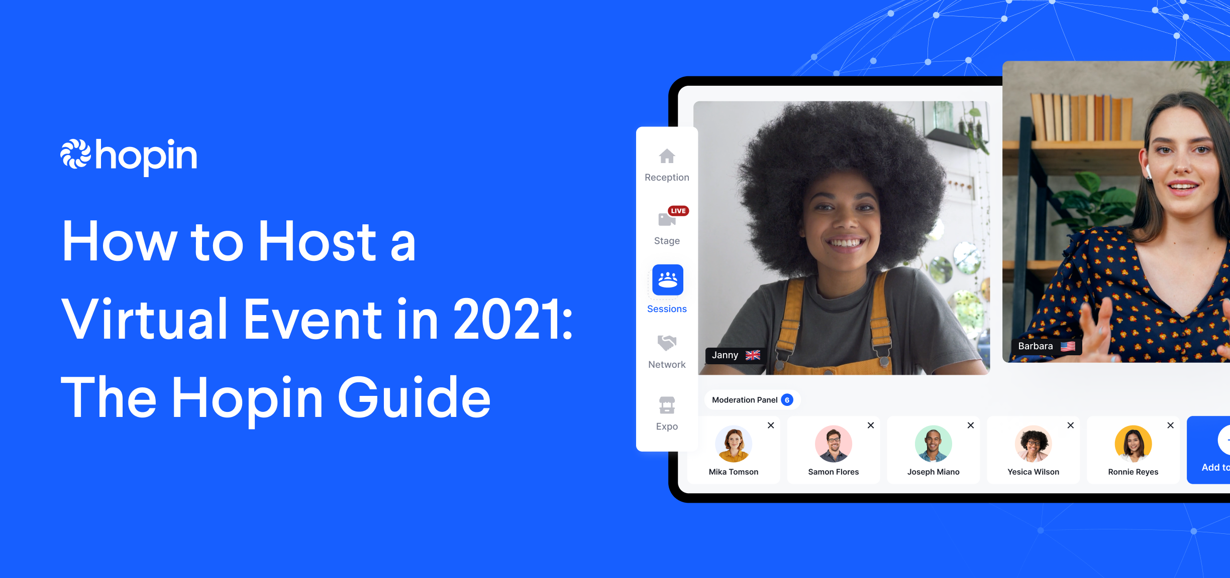 Discover how to host professional virtual events, from planning through post-event engagement, with our step-by-step Guide.