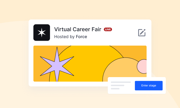 Use Case: Recruitment Fairs | Hopin