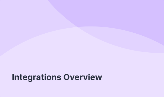Integrations Overview