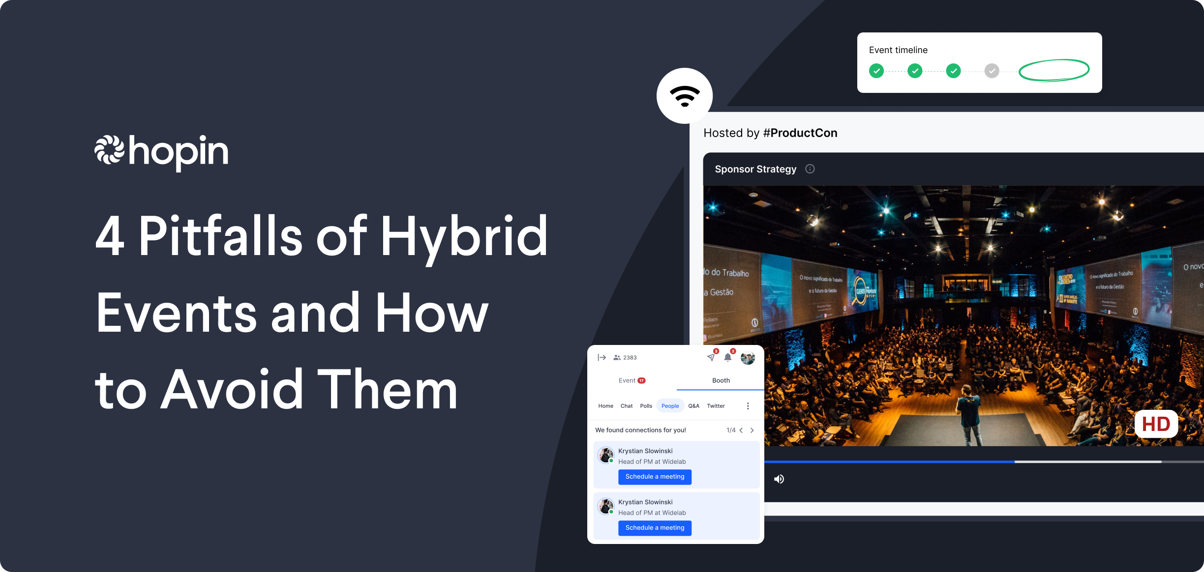 Hybrid events are mostly uncharted territory, but we spoke with three experienced organizers to hear about pitfalls they encountered – and how to avoid them.