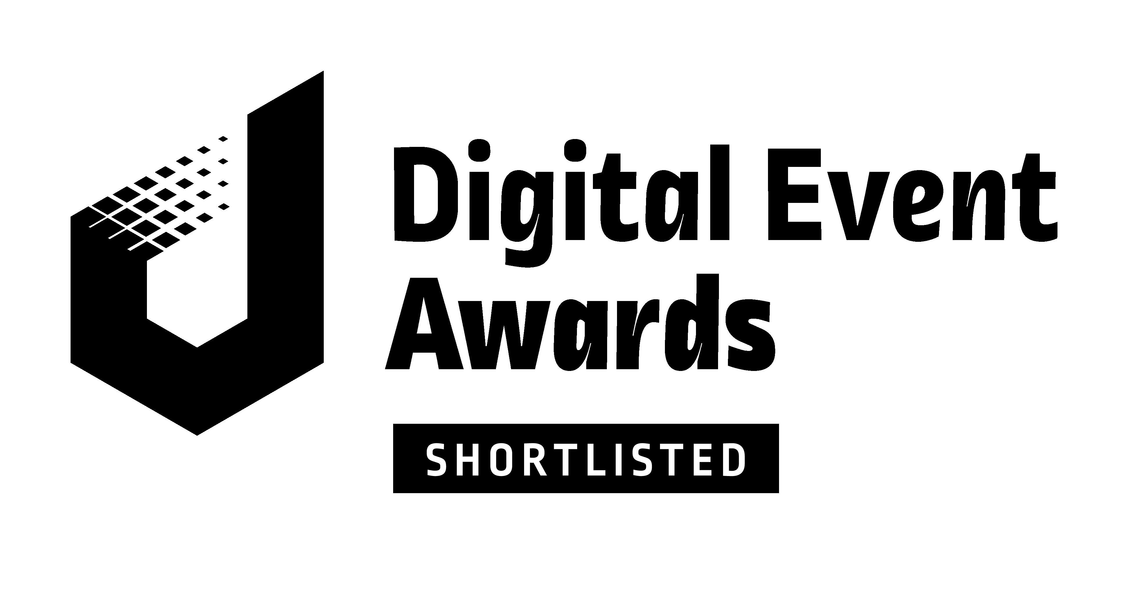 the digital event awards shortlisted logo