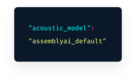 AssemblyAI Speech-to-Text API console 2