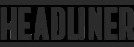 A logo for Headliner.com
