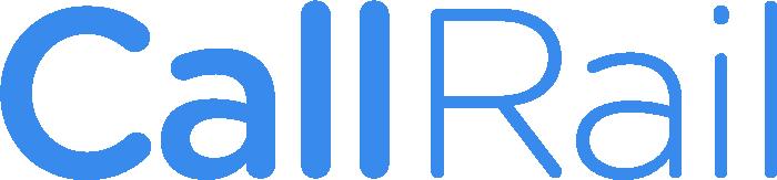 A logo of CallRail.com