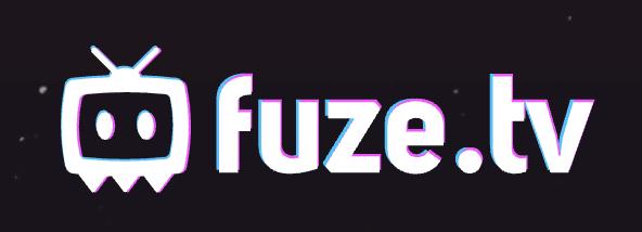 A logo of Fuze.tv.