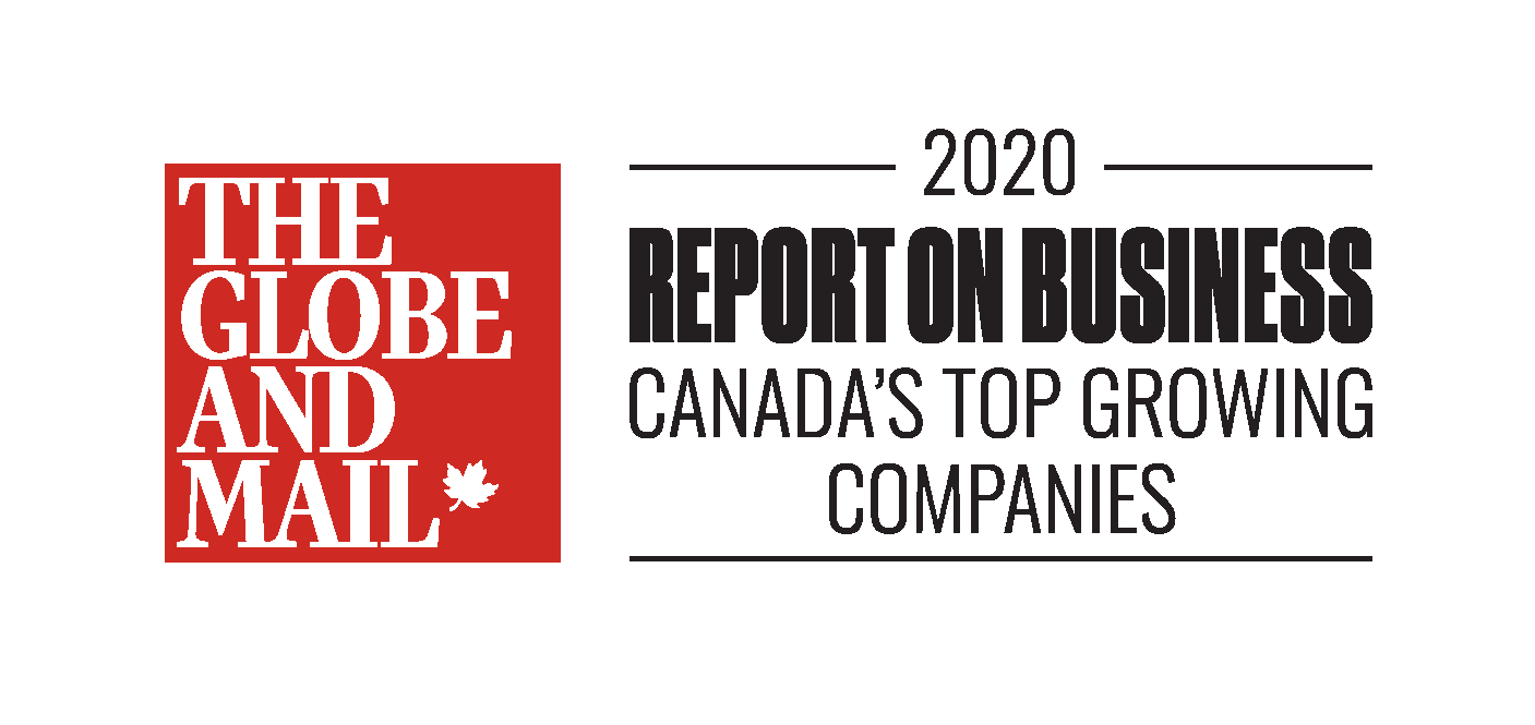 Globe and Mail Canada's Top Growing Companies List logo