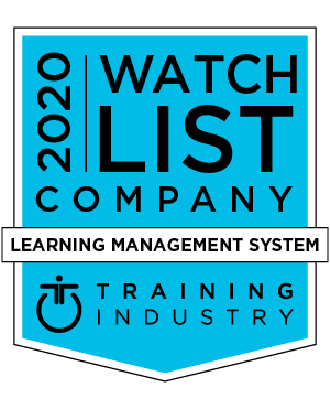 Training Industry 2020 LMS Companies to Watch List logo