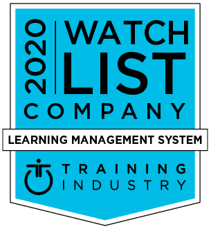 Training Industry 2020 Learning Management System Watch List award