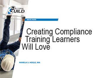 Creating Compliance Training Learners Will Love cover page