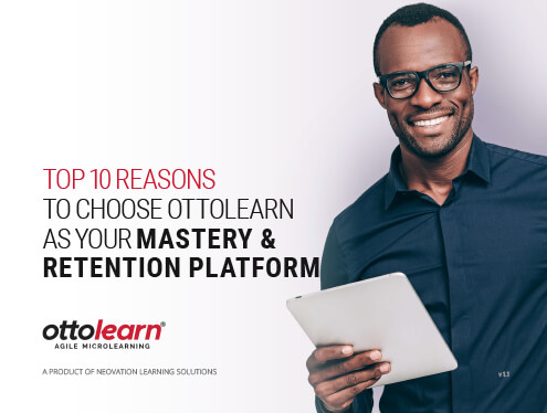 Top 10 Reason to Choose OttoLearn as Your Mastery & Retention Platform cover page