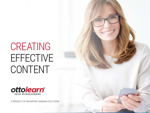 The Creating Effective Content cover page