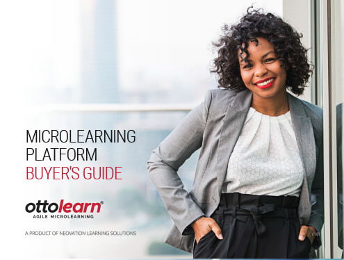 Microlearning Platform Buyer's Guide cover page