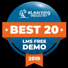 Best 20 LMS Free Demo award 2019