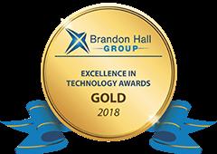 2018 Brandon Hall Gold award