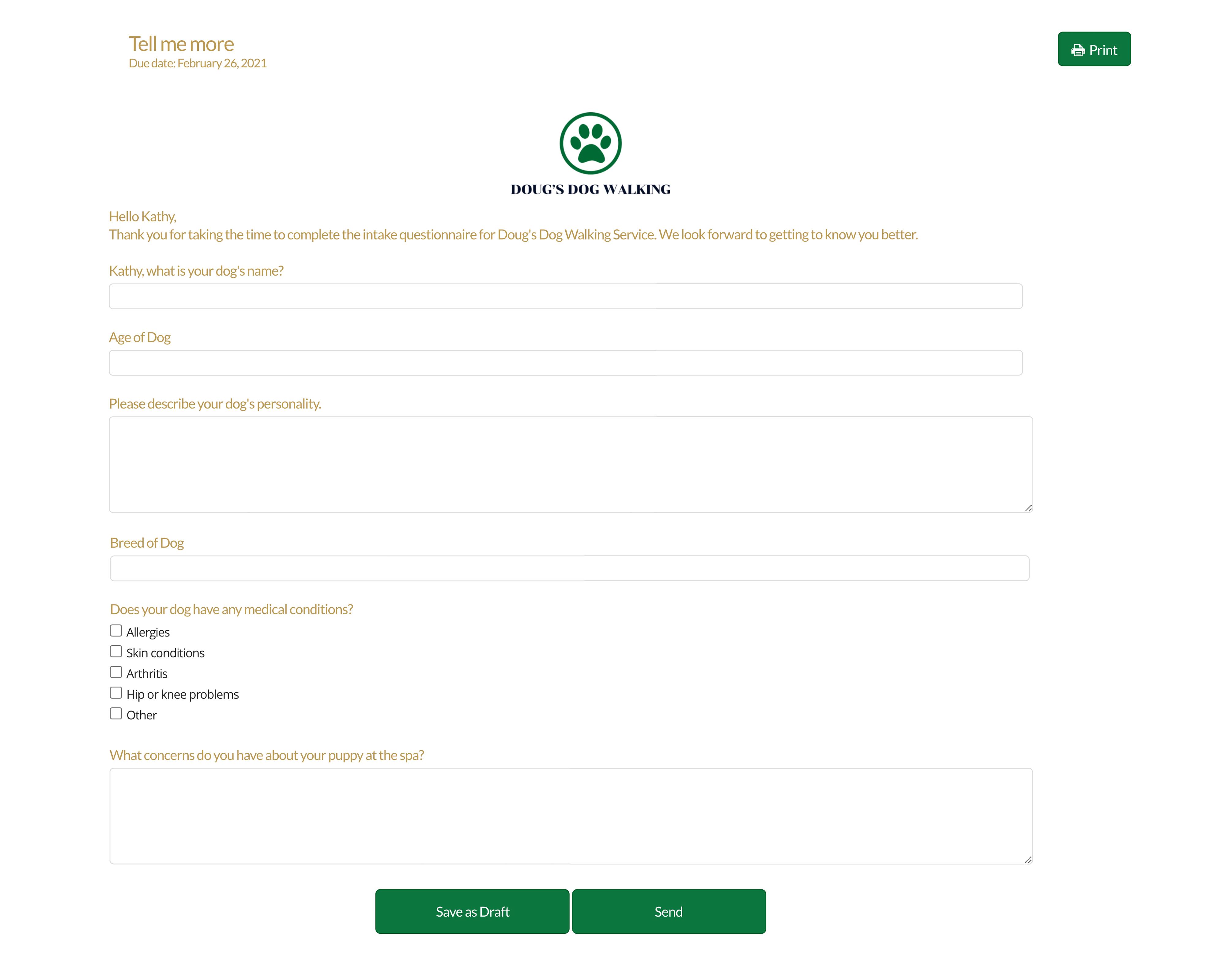 17hats Questionnaire