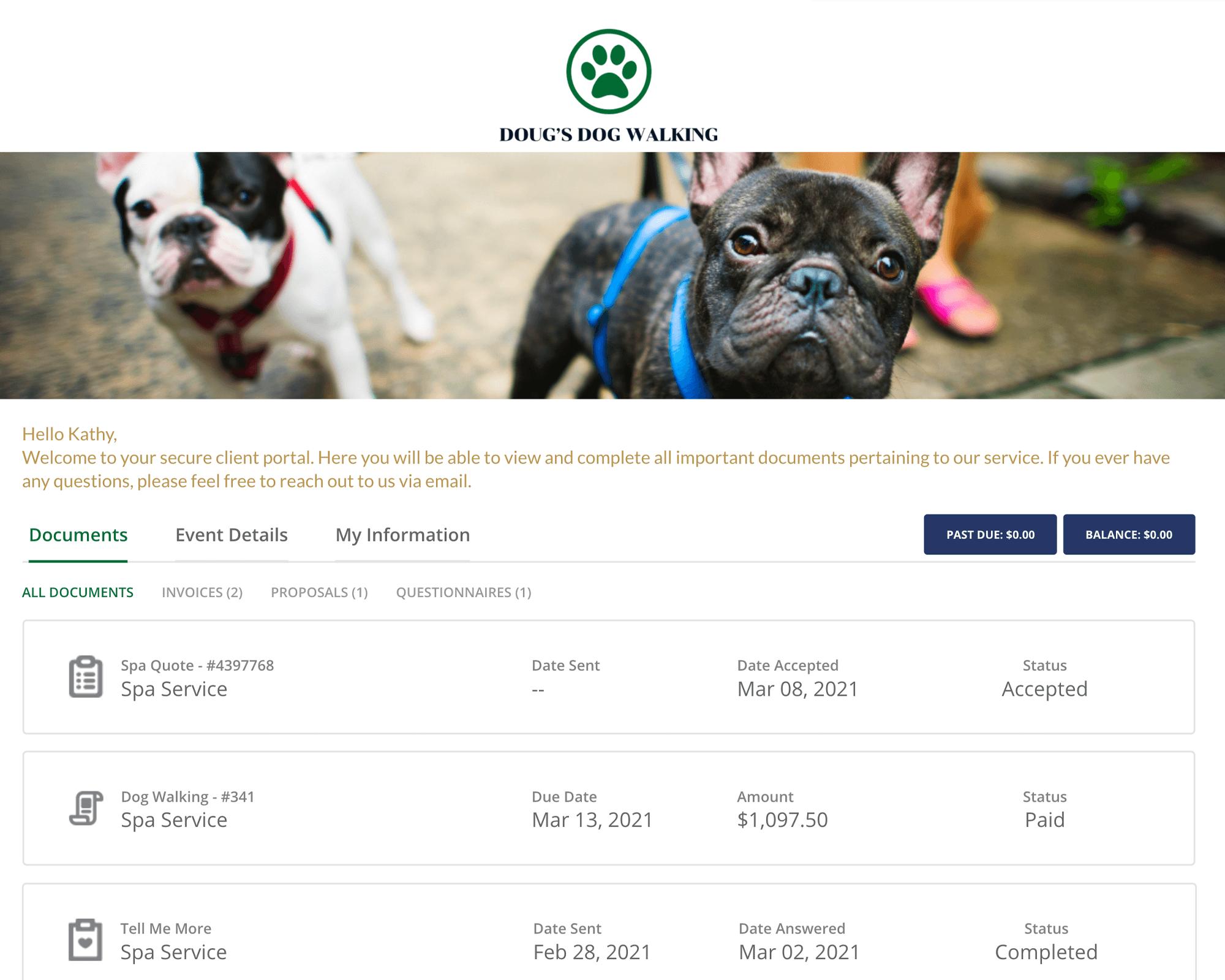 17hats Client Portal