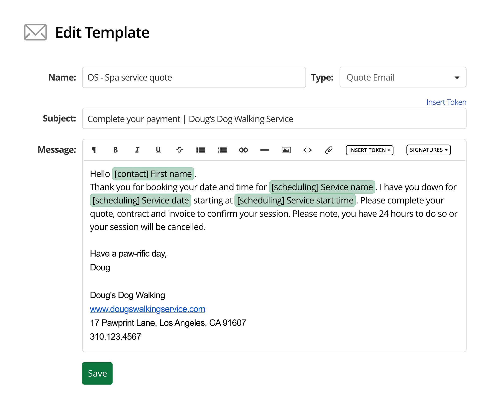 17hats Feature Email Templates