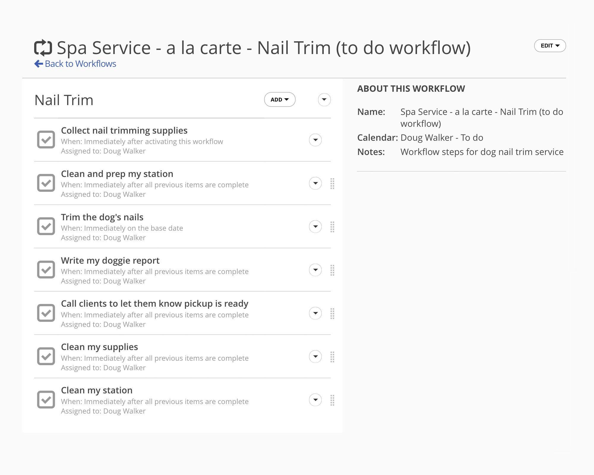 To-Do Workflows