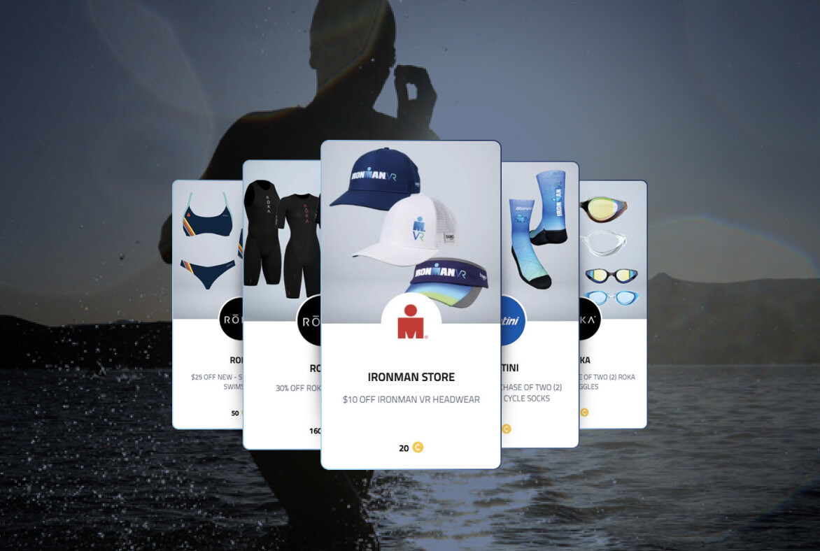 IRONMAN virtual Club rewards