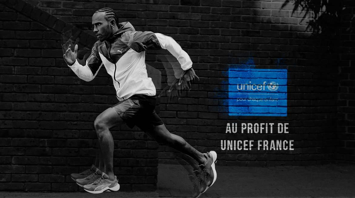 PUMA pour l'UNICEF