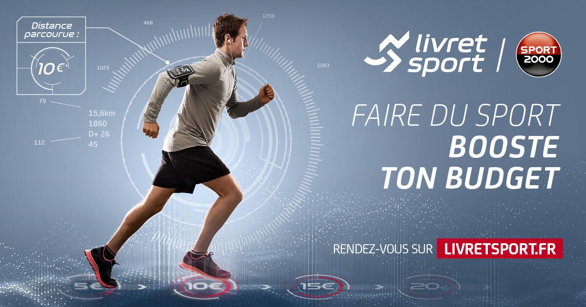 Grâce à Livret Sport, Sport 2000 génère du traffic en magasin