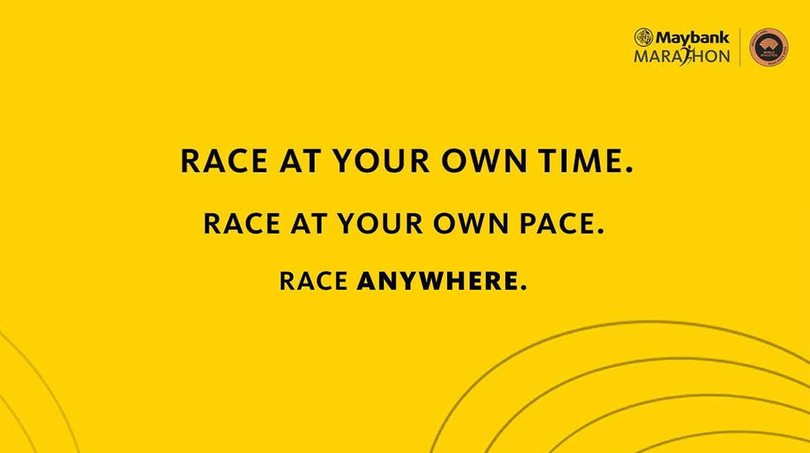 race at your own pace