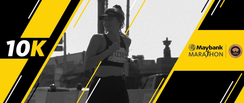 la course virtuelle Maybank Marathon