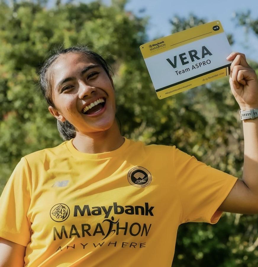 les finishers de Maybank Marathon