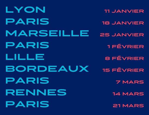 Les dates du ASICS Running Lab Tour 2020