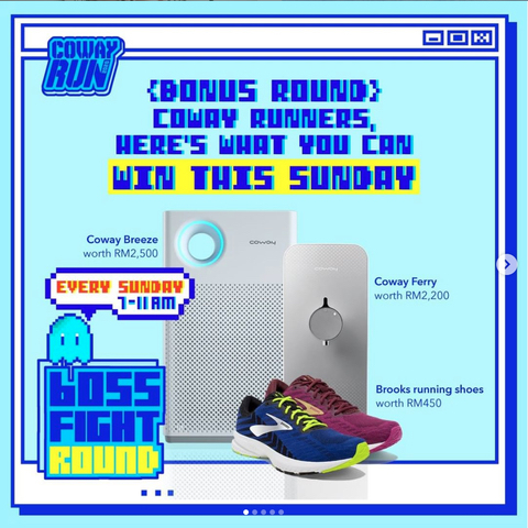 Coway_Run_prizes