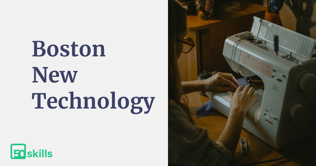 50skills introduced at Boston New Technology