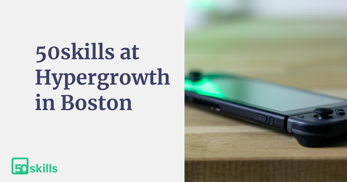 Hypergrowth 2018 – meet the 50skills team!