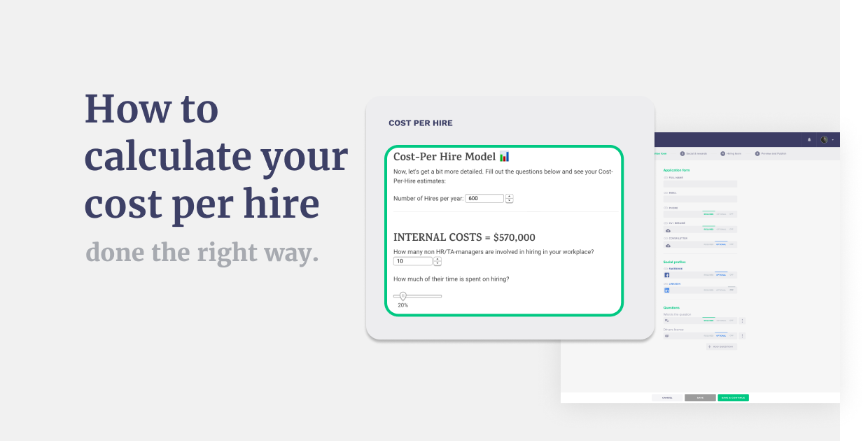 How To Calculate Cost Per Hire To Optimize Recruiting – Worksheets! V.1.0.