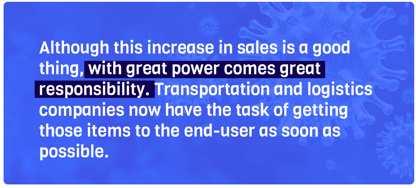 Although this increase in sales is a good thing, with great power comes great responsibility