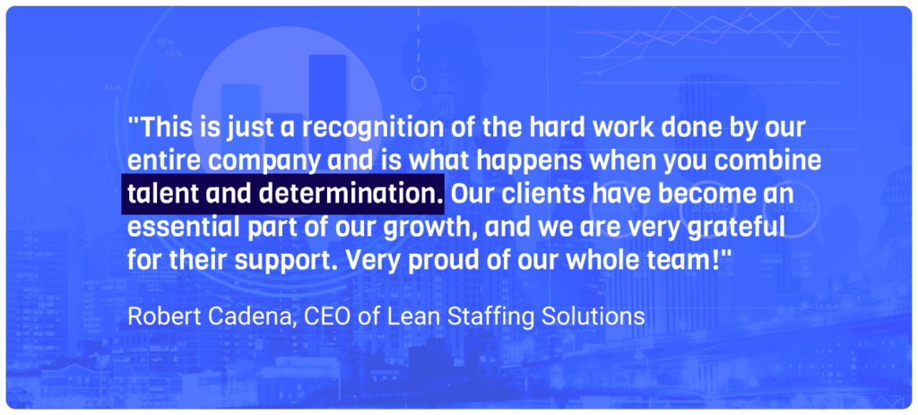 Lean Staffing Solutions Inc 500 2020