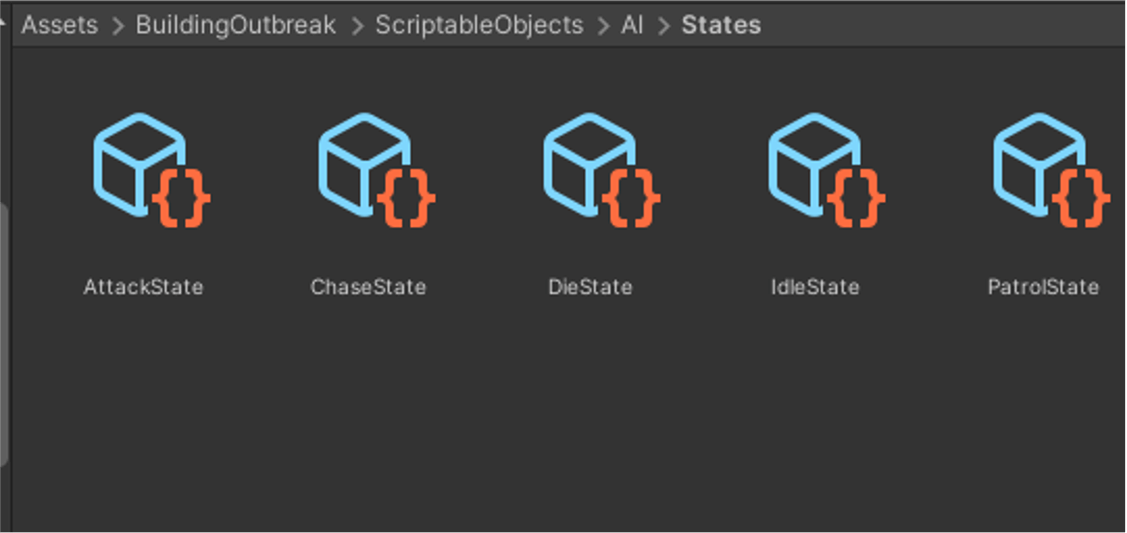 Scriptable Objects Created
