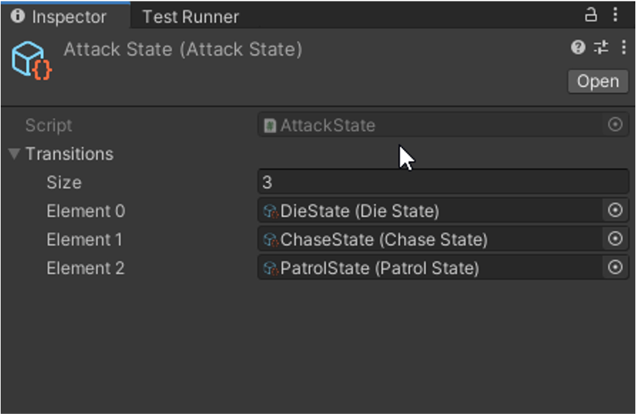 SO in the Unity Inspector