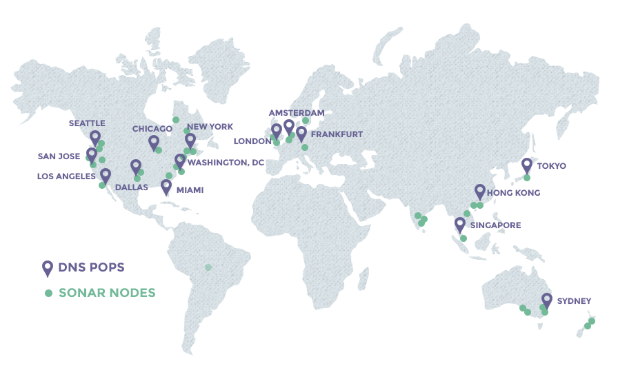 Constellix Network Map