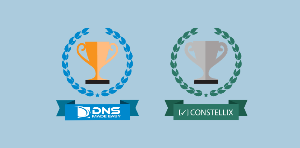 2nd Fastest DNS Provider in August!