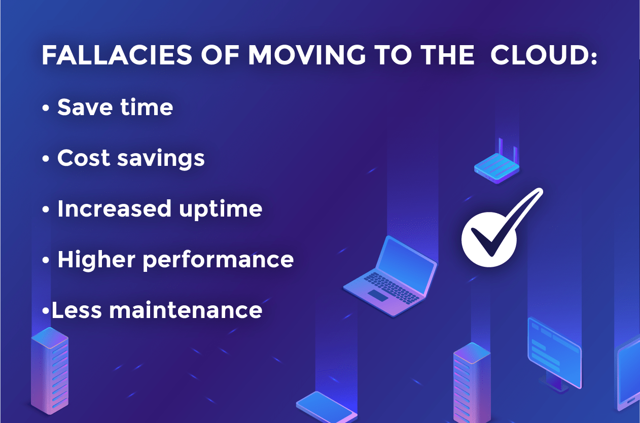 fallacies of moving to the cloud