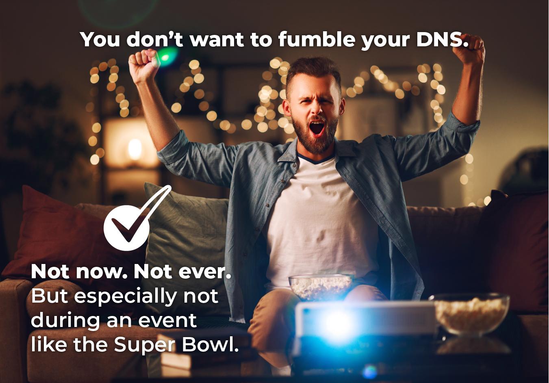 dns provider, super bowl tech, tech event