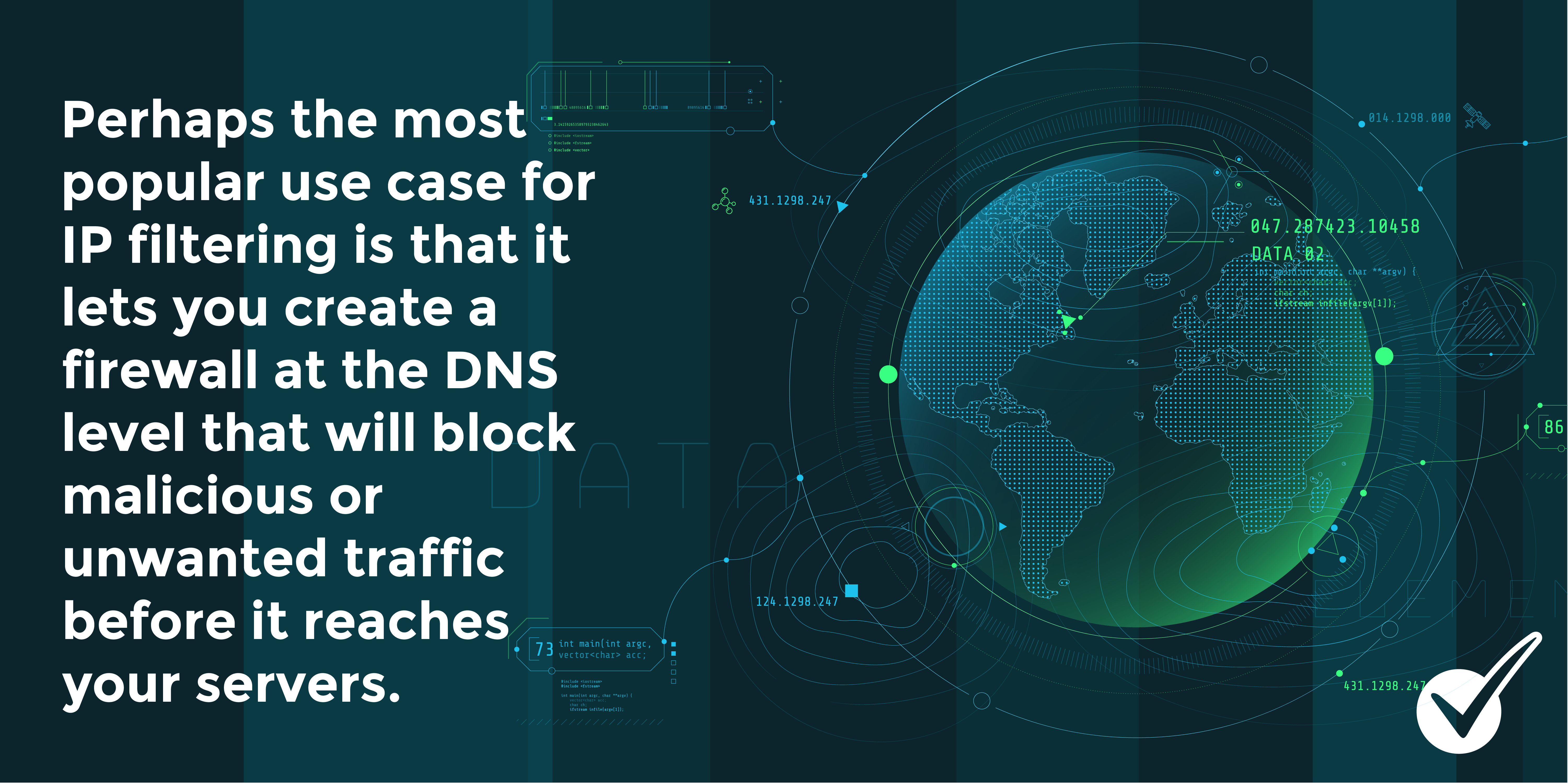 DNS IP Filter Tip - Create firewall at DNS Level to block malicious traffic before it reaches servers