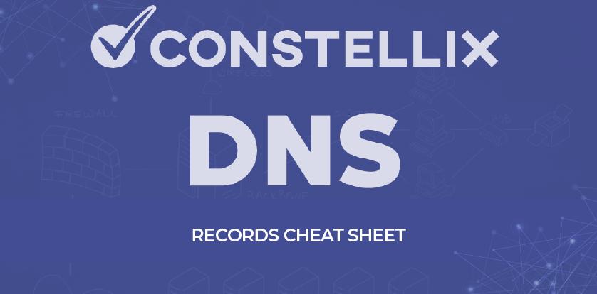 DNS Record Types Cheat Sheet