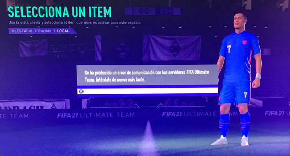 FIFA communication error