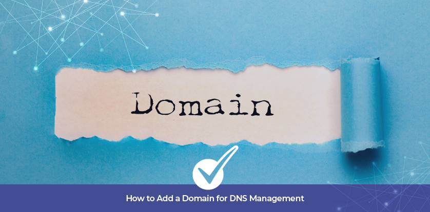 How to Add a Domain for DNS Management