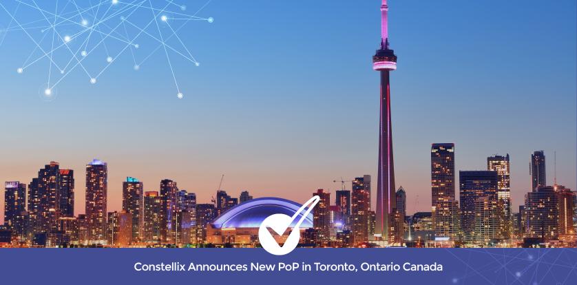 Constellix Announces New PoP in Toronto, Ontario Canada