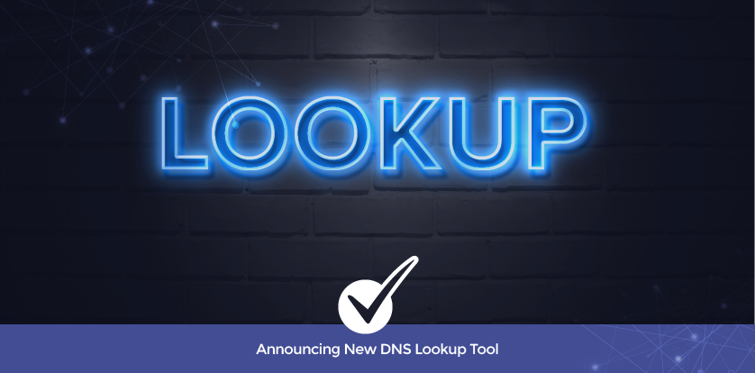 Announcing New DNS Lookup Tool